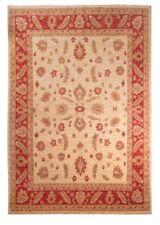 Tapis beige pour le couloir en 100% laine
