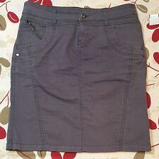 Women's Vero Moda Denim  Size 38 (6) Gray Hopla Pencil Skirt