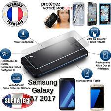 Protection Ecran en Verre Trempé Contre les Chocs pour Samsung Galaxy A7 2017