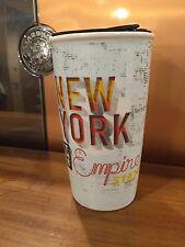 Starbucks New York State DoubleWall Ltd Edition Traveler Tumbler Ceramic Mug NEW