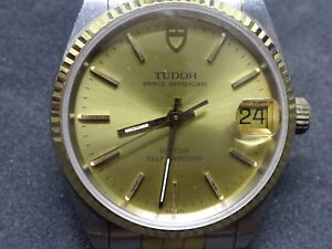 Tudor Prince Oyster Date 72033 cal.2824-2 Automatic Winding