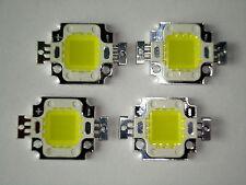 4 Stk. High Power 10W LED Chip kw,12V,Neu,Hochleistungs , 900 Lm, COB, Aquarium
