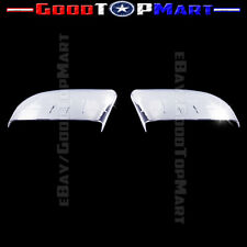 For Lincoln MKX 2011 2012 2013 2014 Chrome Mirror Covers PAIR Set Top Half