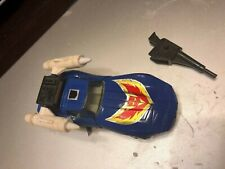 """Transformers G1 """"TRACKS"""" Autobot Car *VINTAGE* 1985 Nice and Clean LQQK!!"""