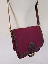 Duluth Pack Mini Haversack Canvas Leather Cross Body Shoulder Book Messenger Bag
