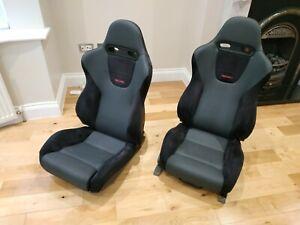 Recaro Seats Mitsubishi Evo 5 - Rare - Bride Recaro Corbeau Cobra Bucket Seats