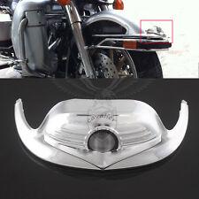 Classic Chrome Front Fender Mudguard Tip Trim For Harley Electra Tour Glide FLHT