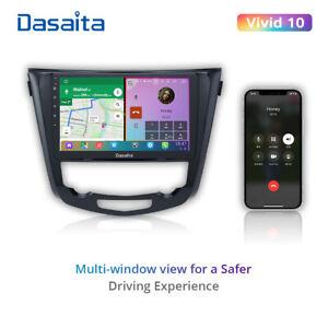 """Dasaita Car Radio For Nissan Rogue Vivid 10 10.2"""" Android Navi Sat Stereo GPS"""