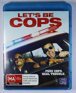 Lets Be Cops Blu Ray FREE POST