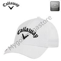 2018 Callaway Golf puntada Imán Ligero Ajustable Hombre estructurada Gorra de