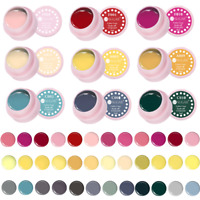 5ml Nail Gel Polish Soak Off UV Gel Color Coat  LED Nail Art Manicure UR SUGAR