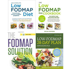 The Low Fodmap Diet Cookbook Collection 4 Books Set (Diets & Healthy Eating)
