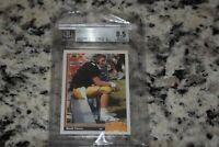 1991 Upper Deck #13 Brett Favre BGS 8.5 Rookie Green Bay Packers Original