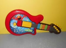 2010 Playskool Sesame Street Elmo Light-Up Musical Guitar Play Toy