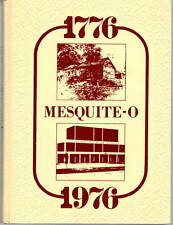 Mesquite High School Texas 1976 Yearbook Annual