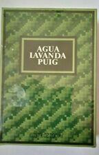 PUIG AGUA LAVANDA - Dry Lavender 200ml. Mens Cologne Discontinued, Vintage,