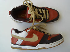 2007 NIKE 6.0 REDWOOD AIR INSURGENT LEATHER SHOES US 10.5 EUR 44.5  RARE NICE