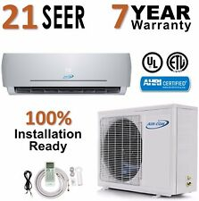 24000 BTU 21 SEER Ductless Mini Split Air Conditioner Heat Pump AirCon 2 Ton AC
