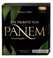SUZANNE COLLINS - DIE TRIBUTE VON PANEM GESAMTAU 6 MP3 CD NEW