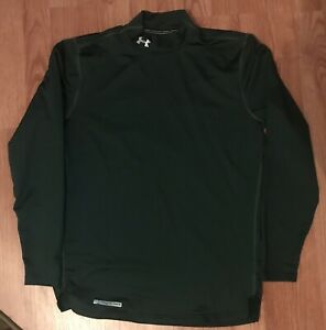 Under Armour Forest Green Cold Gear Compression Top-XL