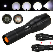 Militaire Tactique 5000LM XM-T6 LED 5mode Zoom Flashlight Torche Lampe 18650/AAA
