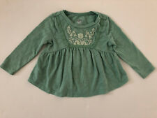 Old Navy Toddler Girls 12-18 Months Long Sleeve Knit Shirt