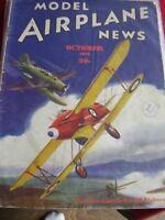 MODEL AIRPLANE NEWS OCTOBER 1936 BLACKBURN F.7-30 FIGHTER AIRCRAFT AEROMODELLER