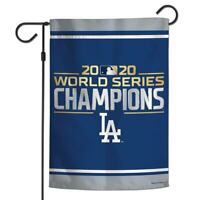Los Angeles Dodgers 2020 World Series Champions Double-Sided Garden Flag