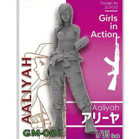 1/35 Aaliyah Girls in Action Resin Model Kits Unpainted GK Unassembled