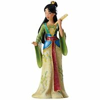 Enesco Disney Showcase Couture de Force Mulan Stone Resin Princess Figurine