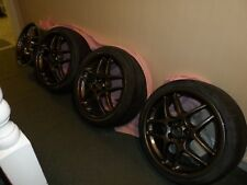 "Genuine 4  BBS 17"" Alloys ET38  5x100 stud pattern VW/Audi/Skoda (3 with tyres)"