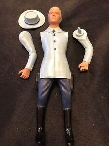 VINTAGE HARTLAND  COWBOY  Toy Gunslinger Blue