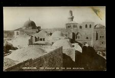 JERUSALEM Palestine Israel Cenacle on Sion Mountain RP PPC
