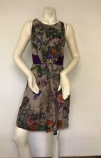 George Evening Dress Size 8, Floral, Silk