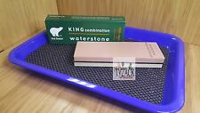 Ice Bear KING Japanese Premium Combination Waterstone 1000 / 4000 Grit + Tray
