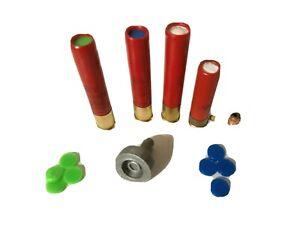 410 gauge shotgun roll crimp brass roller drill attach reloading hunting Lee