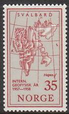 Stamp Norway Sc 0356 1957 International Geophysical Year Norge MNH