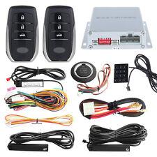 EASYGUARD  Smart PKE car alarm kit remote engine start push start button DC12V