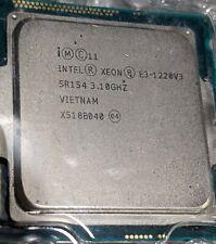 Intel Xeon E3-1220 V3 SR154 3.10 GHz CPU QUAD(4)CORE processor Socket LGA 1150