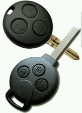 Smart car Fortwo 450 451 remote key programmed and cut. Replacement spare lost