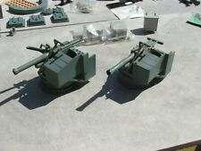 1/24tH SCALE FITTINGS- MTB , COASTAL CRAFT TYPE- GUNS DEPTH CHARGES LOCKERS