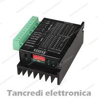 CNC Singolo Asse 4A TB6600 DC Due Fase Ibrido Stepper Motore Drivers Controllore