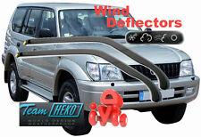 Wind deflectors TOYOTA LAND CRUISER J90 3/5D  1996 - 2002  HEKO 29358 ONLY FRONT