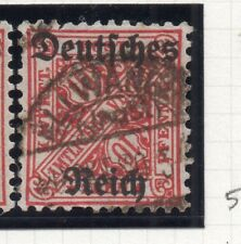 Germany 1920 Wurt. OFFICIAL Early Issue Fine Used 10pf. Optd 270577