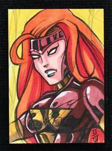 2020 Upper Deck Marvel Masterpieces Sketch Cards 1/1 Brandon Warren Auto