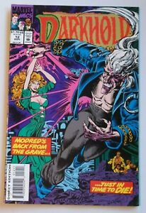 Darkhold Pages from the Book of Sins #12 1993 Marvel Comic Book Horror 6209