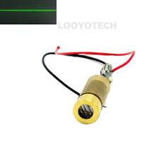 INDUSTRIAL/LAB 532nm 20mW Green Diode Laser Line Module 3.0V-3.7V w/ Diver Board