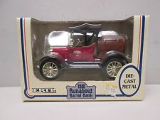 Ertl True Value 1918 Runabout Barrel Diecast Bank