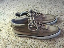 Converse Jack Purcell Tan Leather High Top Sneakers Shoes Mens Size 10 Ked