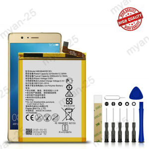 For Huawei Maimang 5 / Honor 6X / G9 Plus Replacement Battery HB386483ECW+ Tools